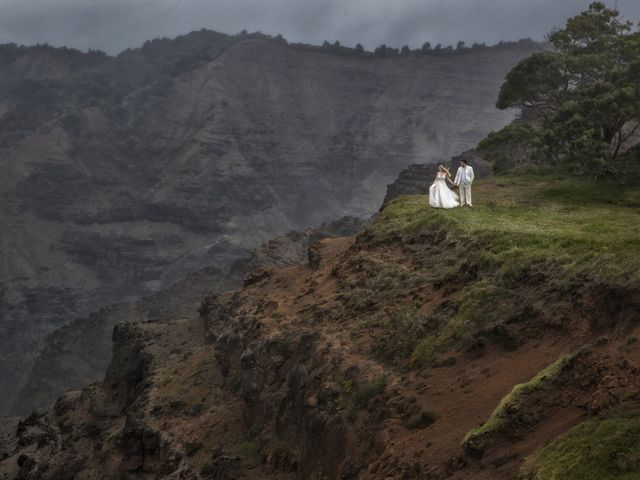 Marco and Ashley's Wedding in Princeville, Hawaii 1