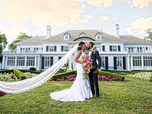 The wedding of Pharline and Ryan