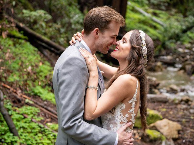 The wedding of Sarah and Leon