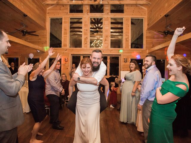 Shawn and Brittany's Wedding in Pigeon Forge, Tennessee 6