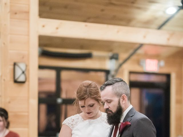 Shawn and Brittany's Wedding in Pigeon Forge, Tennessee 10