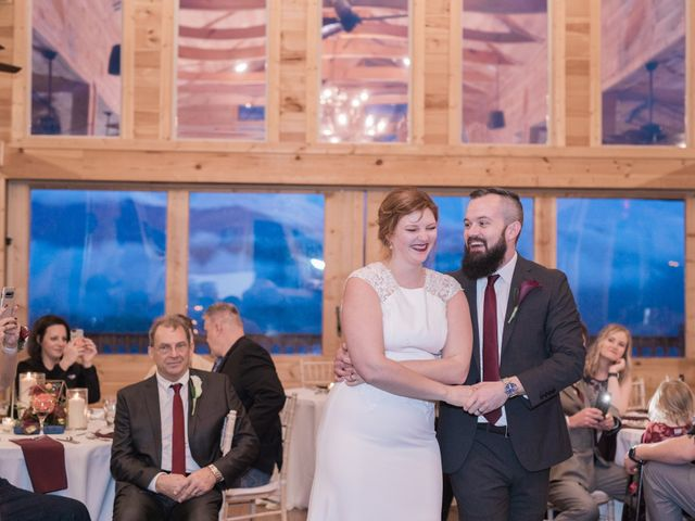 Shawn and Brittany's Wedding in Pigeon Forge, Tennessee 13