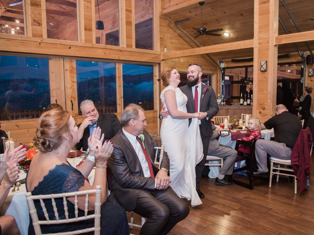 Shawn and Brittany's Wedding in Pigeon Forge, Tennessee 14