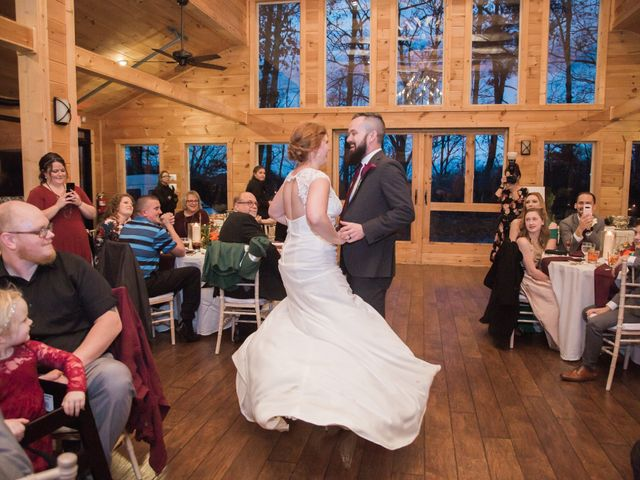 Shawn and Brittany's Wedding in Pigeon Forge, Tennessee 15