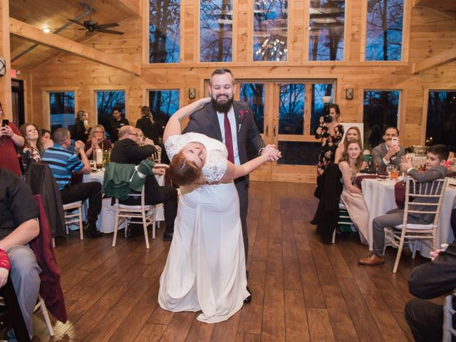 Shawn and Brittany's Wedding in Pigeon Forge, Tennessee 16