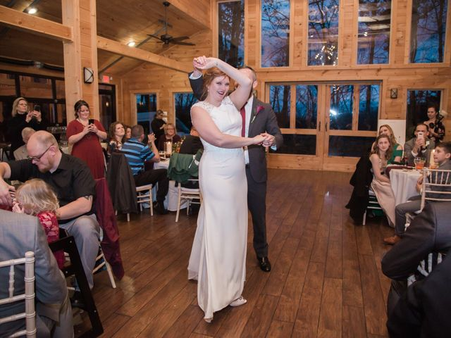 Shawn and Brittany's Wedding in Pigeon Forge, Tennessee 17