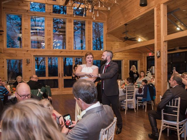 Shawn and Brittany's Wedding in Pigeon Forge, Tennessee 18