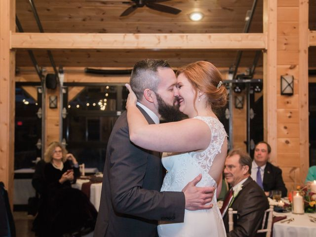 Shawn and Brittany's Wedding in Pigeon Forge, Tennessee 19