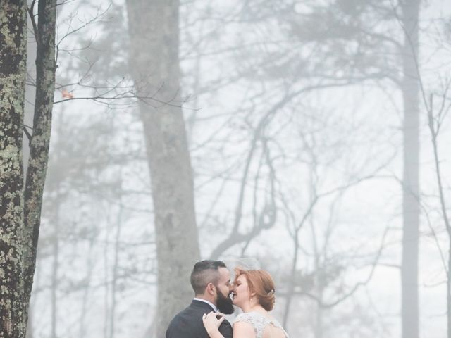 Shawn and Brittany's Wedding in Pigeon Forge, Tennessee 33