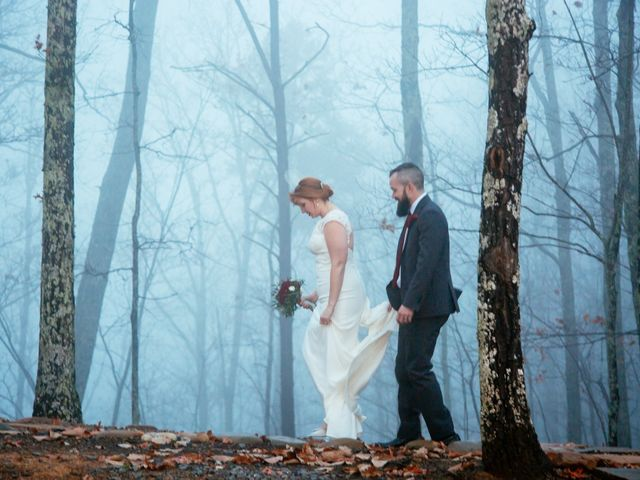 Shawn and Brittany's Wedding in Pigeon Forge, Tennessee 39