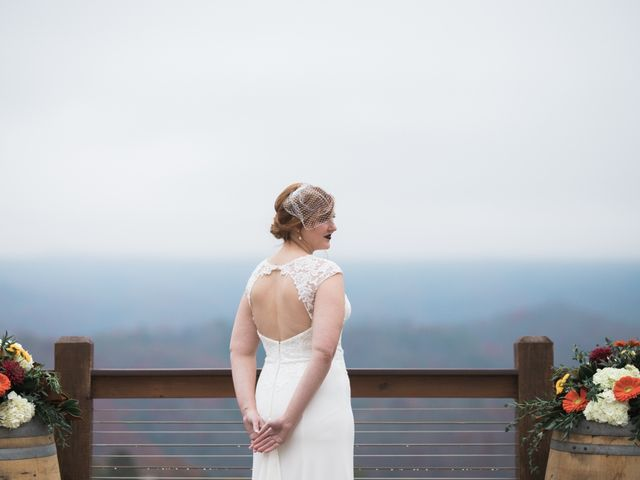Shawn and Brittany's Wedding in Pigeon Forge, Tennessee 45