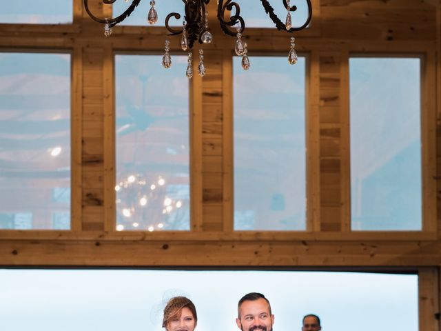 Shawn and Brittany's Wedding in Pigeon Forge, Tennessee 52