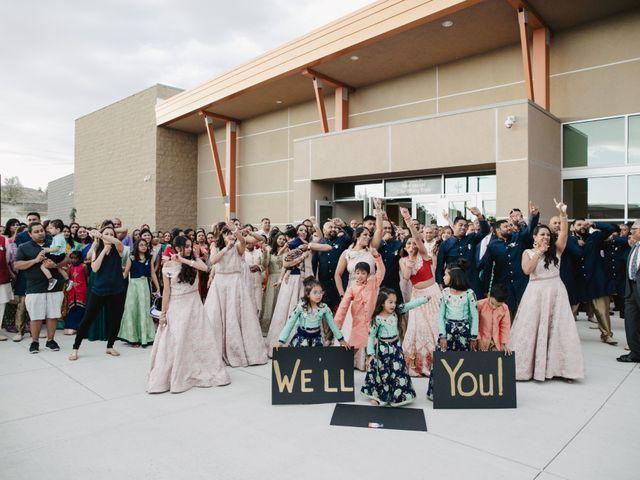 Pratik and Sapna's Wedding in Elko, Nevada 56
