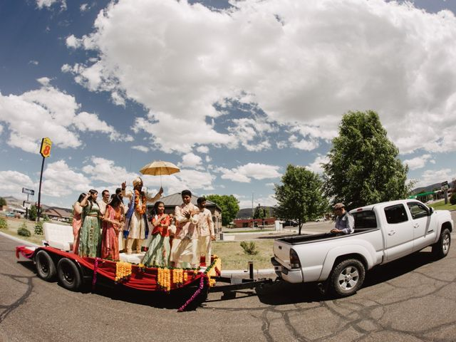 Pratik and Sapna's Wedding in Elko, Nevada 98