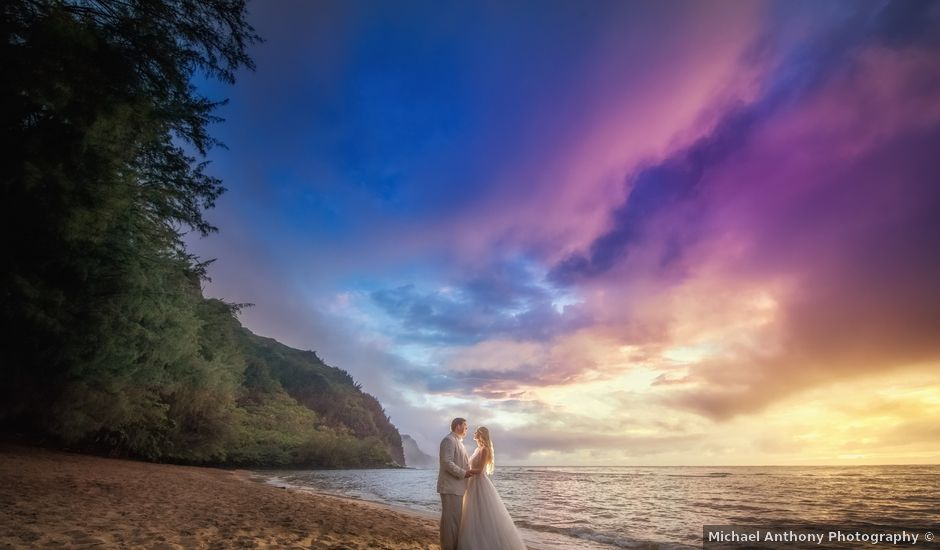 Marco and Ashley's Wedding in Princeville, Hawaii