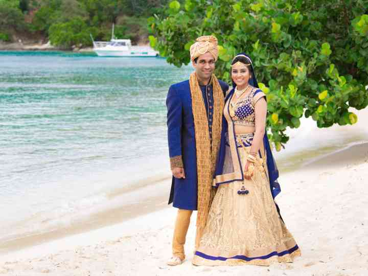 The wedding of Sandeep and Reesha