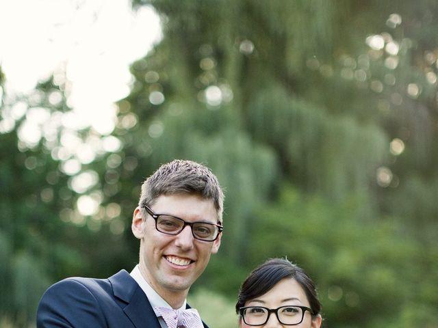 The wedding of Ben and Joyce