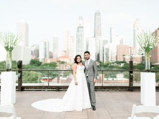 The wedding of Rita and Adrian