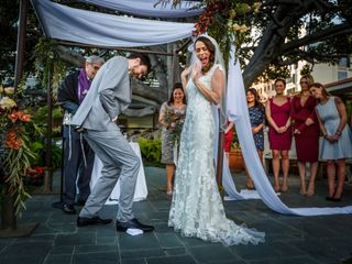 Gary and Melissa's Wedding in Santa Monica, California 26