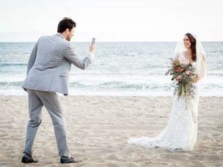 Gary and Melissa's Wedding in Santa Monica, California 33