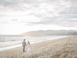 Gary and Melissa's Wedding in Santa Monica, California 37