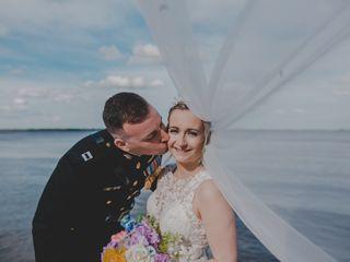 The wedding of Dan and Destyni