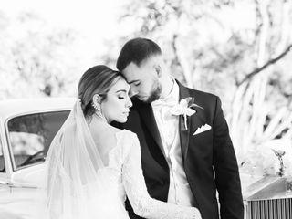 The wedding of Ana and Matthew