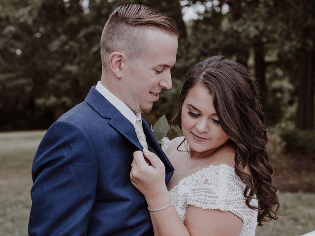 Nikki and Corey's Wedding in Easton, Maryland 9