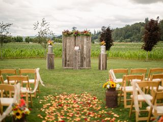 Justine and Josh's Wedding in Snohomish, Washington 11