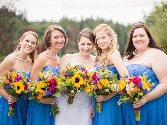 Justine and Josh's Wedding in Snohomish, Washington 5
