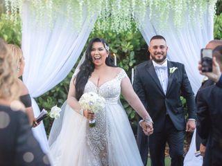 The wedding of Milisent Cruz and Wilfredo Cruz