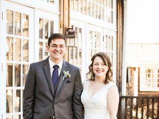 The wedding of Zach and Ellen 1