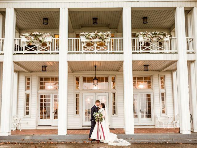 The wedding of Allison and John