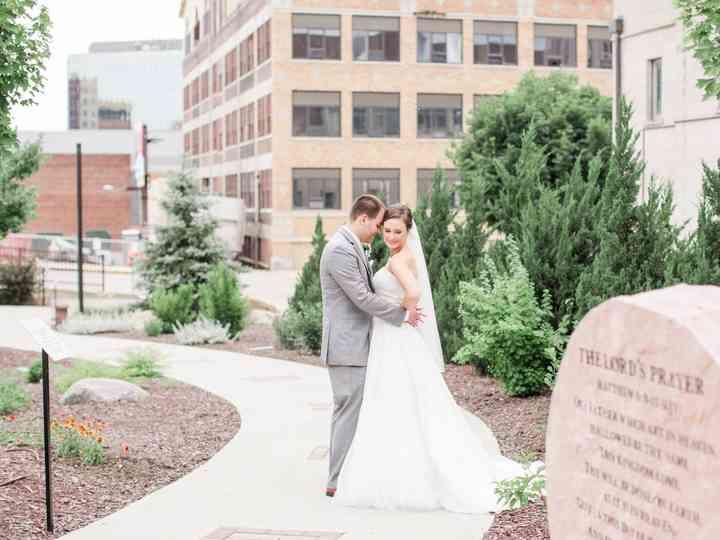 The wedding of Katlyn and Dominic