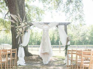The wedding of Mica and Dalton 1