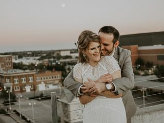 The wedding of Emily and Dustin