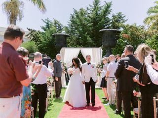 The wedding of Mimi and Bjorn 1