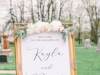 The wedding of Kayla  and Brett 3