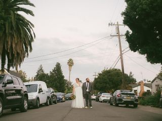 The wedding of Joanna and Dustin