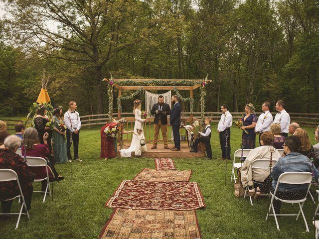 Andrew and Kimmie's Wedding in Iuka, Missouri 1