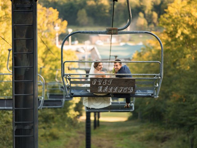 Mike and Kelsey's Wedding in Speculator, New York 1