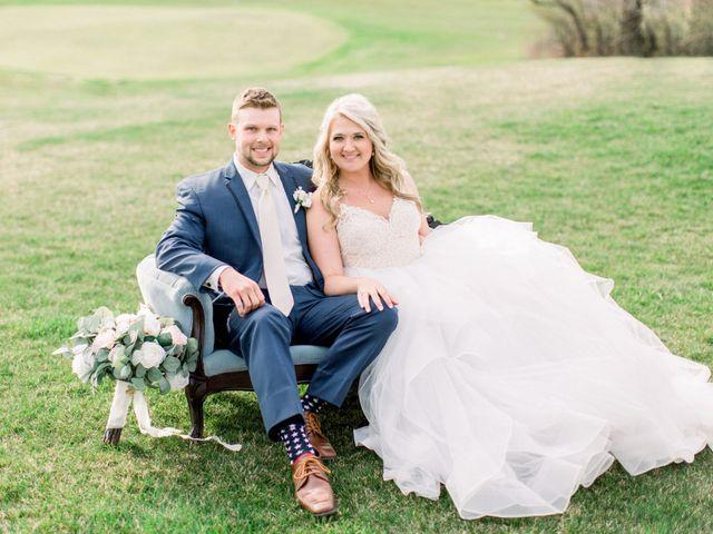The wedding of Kayla  and Brett