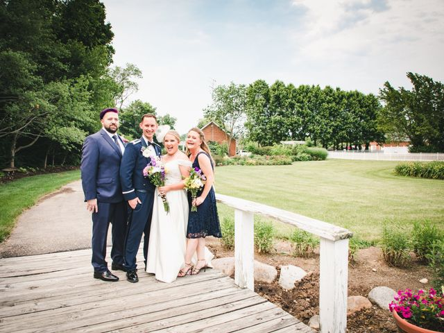 Nic and Alicia's Wedding in Bellbrook, Ohio 9