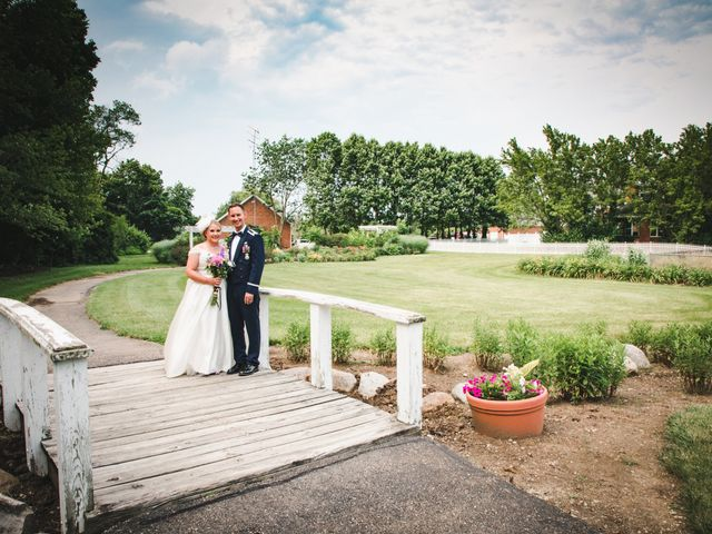 Nic and Alicia's Wedding in Bellbrook, Ohio 14