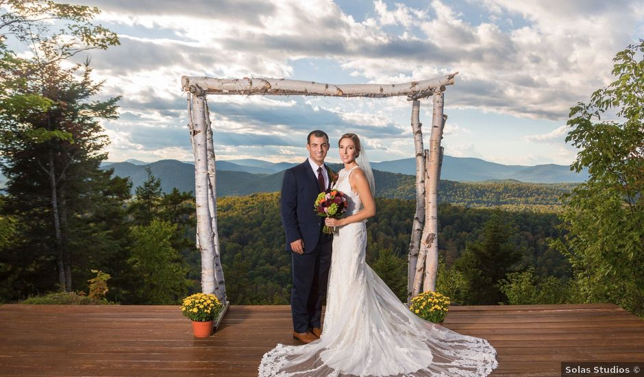 Mike and Kelsey's Wedding in Speculator, New York