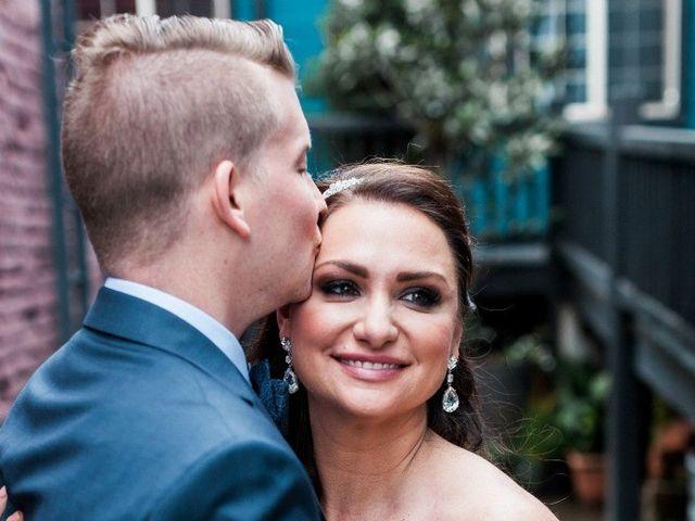 The wedding of Jeffery and Angela