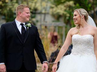 The wedding of Matt and Kaitlin
