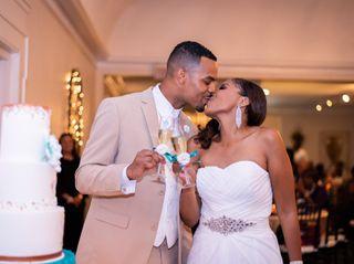 The wedding of LaTasha and Brandon