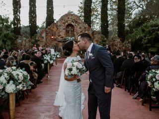 The wedding of Stefanie and Antonio