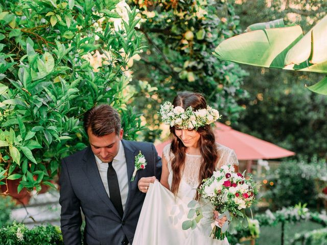 The wedding of Ksenia and Tom